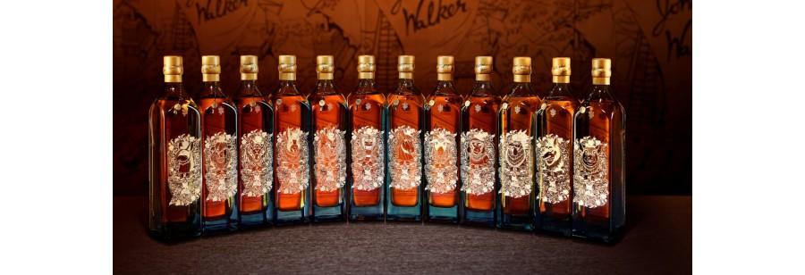 Johnnie Walker Blue Label Zodiac Set (12 bottles)