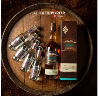 Tamnavulin Double cask with 4 Bottles Fever Tree Soda