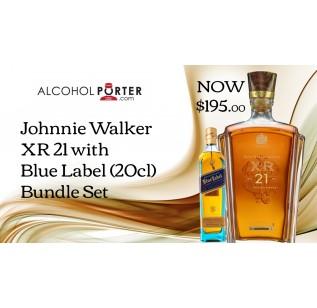Johnnie Walker XR21 + JW Blue 20cl