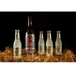 Matusalem Rum Solera 7 Year Old with 4 bottles Fever Tree Ginger Beer