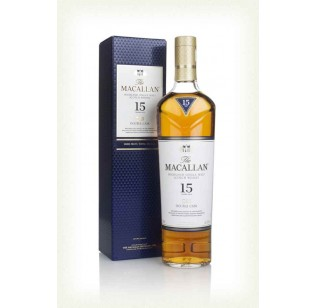 The Macallan 15 Year Old Double Cask