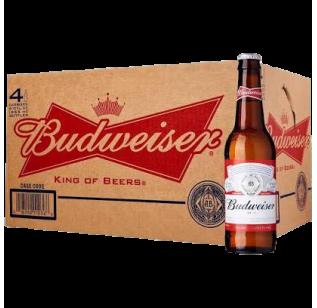 Budweiser (24 bottles x 355ml)